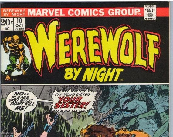 Werewolf by Night 10 Oct 1973 VF (8.0)