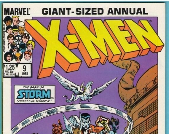 X-Men Annual 9 1985 NM- (9.2)