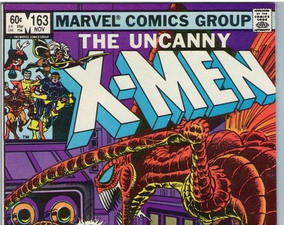 X-Men 163 Nov 1982 VF (8.0)