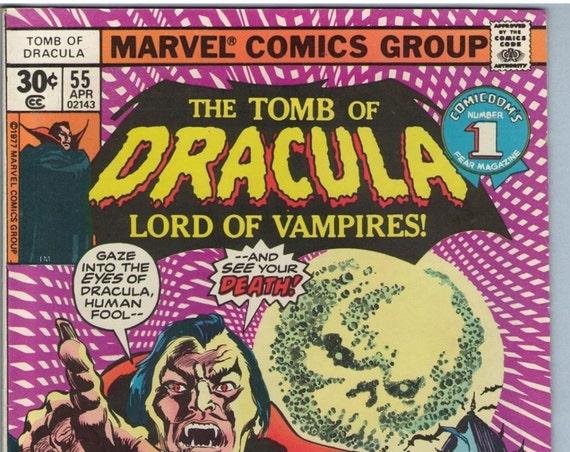 Tomb of Dracula 55 Apr 1977 FI (6.0)