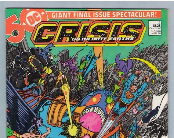 Crisis on Infinite Earths 12 Mar 1986 NM- (9.2)