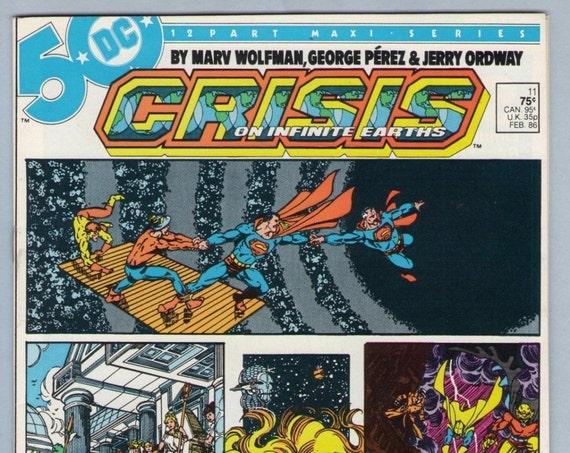 Crisis on Infinite Earths 11 Feb 1986 NM- (9.2)