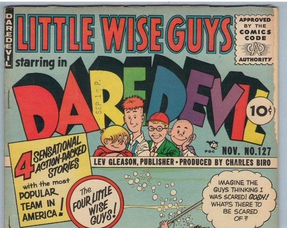 Daredevil Comics 127 Nov 1955 VG- (3.5)