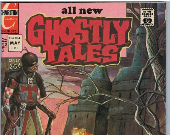 Ghostly Tales 104 May 1973 VF-NM (9.0)