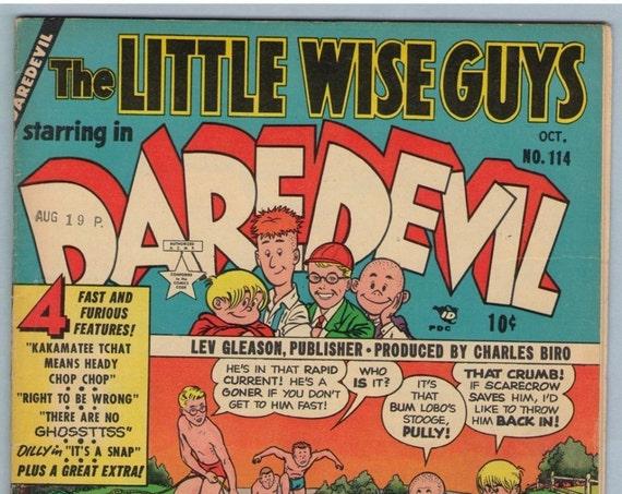 Daredevil Comics 114 Oct 1954 VG+ (4.5)
