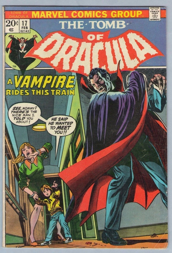 Tomb of Dracula 17 Jan 1974 VG (4.0)