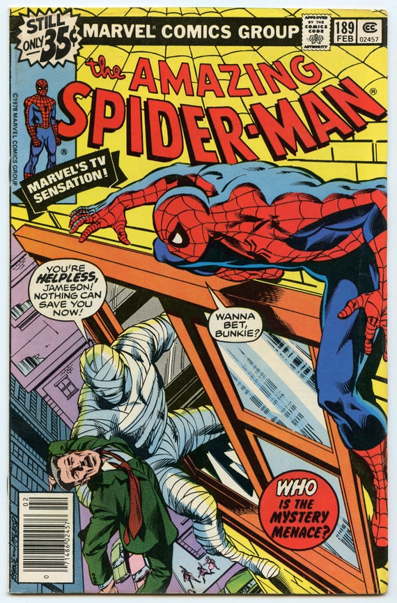Amazing Spider-man 189 Feb 1979 FI- (5.5)