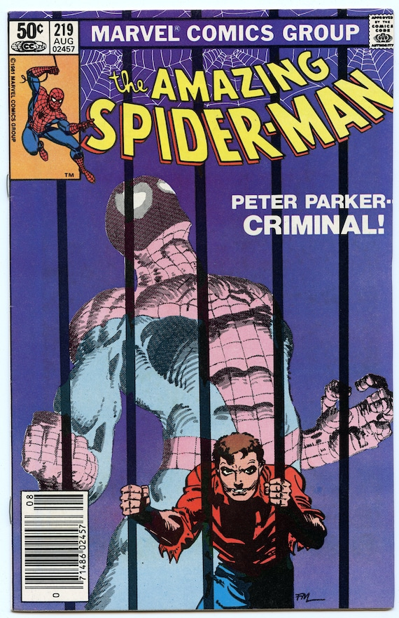 Amazing Spider-man 219 Aug 1981 NM- (9.2)