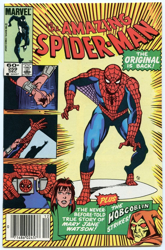 Amazing Spider-man 259 Dec 1984 VF+ (8.5)
