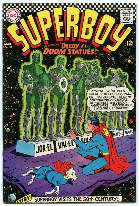 Superboy 136 Mar 1967 FI+ (6.5)