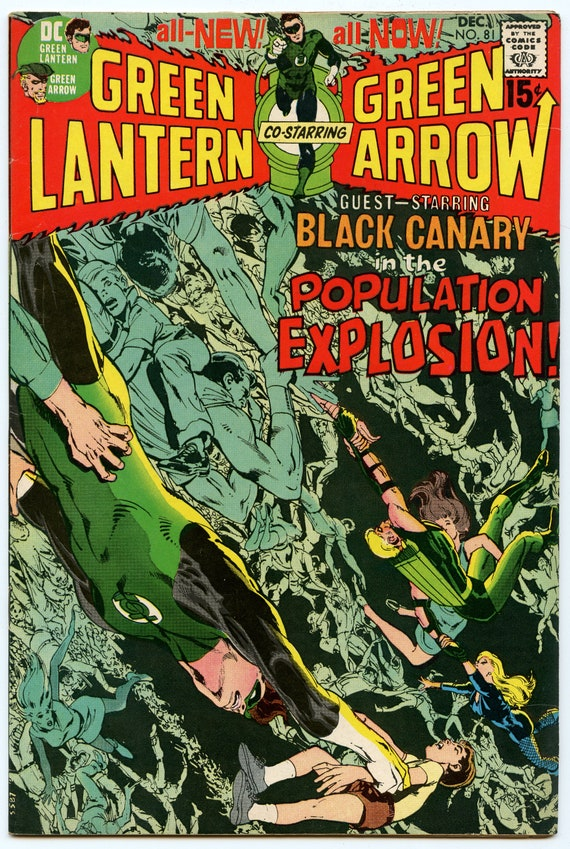 Green Lantern 81 Dec 1970 FI-VF (7.0)
