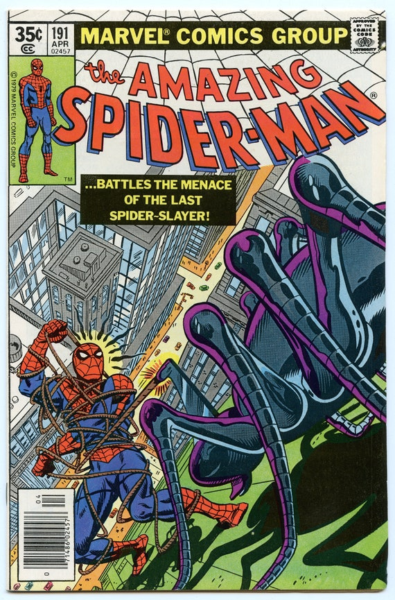 Amazing Spider-man 191 Apr 1979 VF+ (8.5)