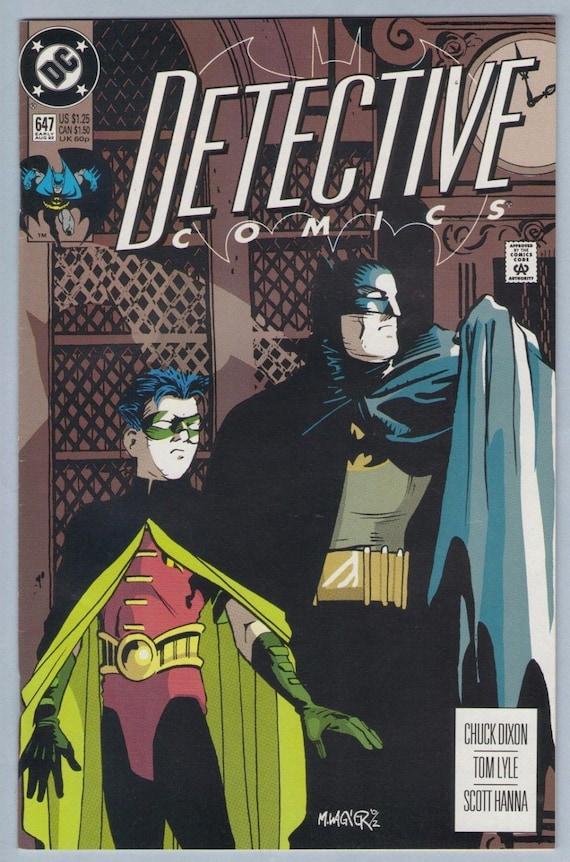 Detective Comics 647 Aug 1992 NM- (9.2)