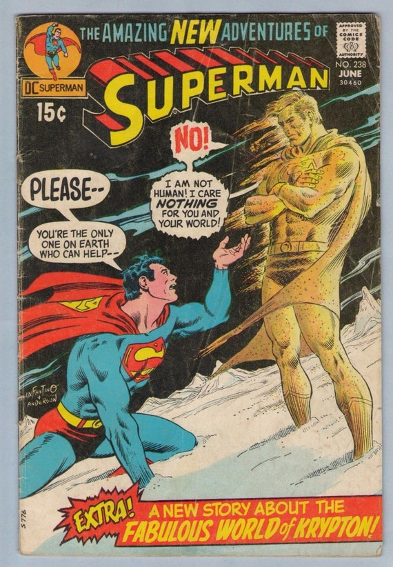Superman 238 Jun 1971 VG- (3.5)