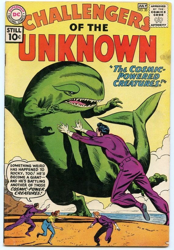 Challengers of the Unknown 20 Jul 1961 VG+ (4.5)