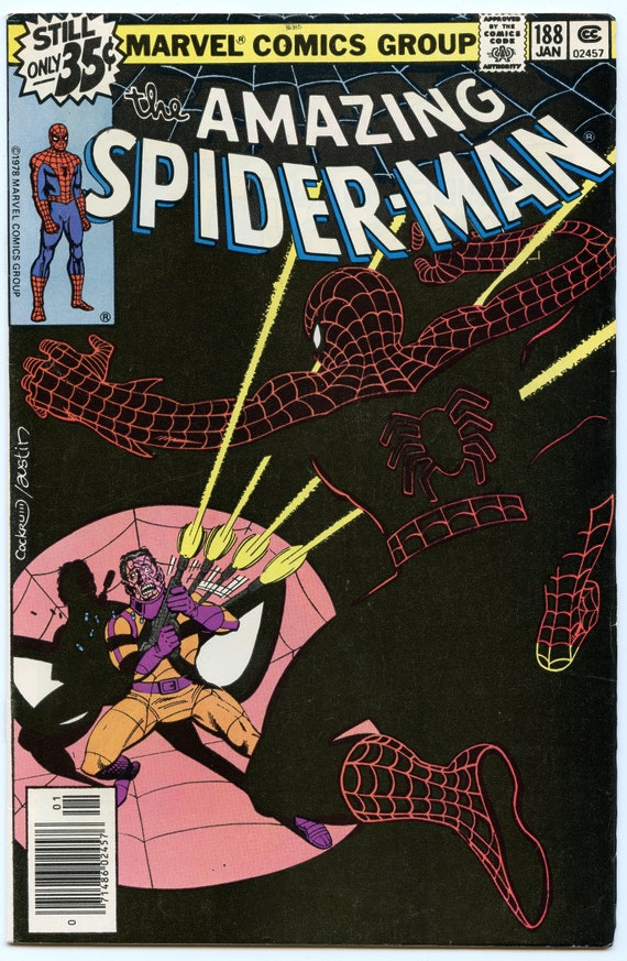 Amazing Spider-man 188 Jan 1979 FI+ (6.5)
