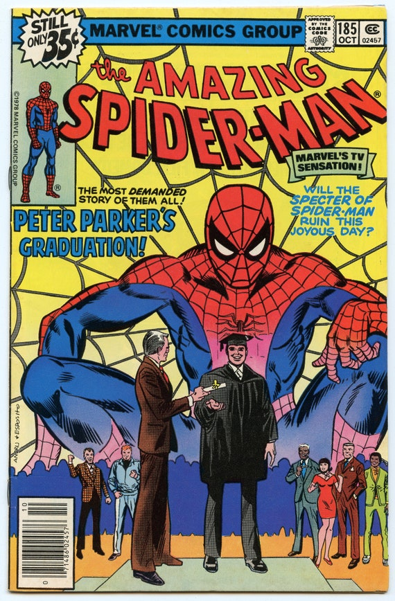 Amazing Spider-man 185 Oct 1978 VF (8.0)