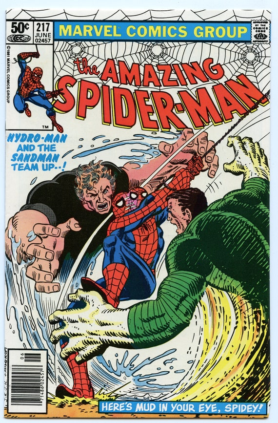 Amazing Spider-man 217 Jun 1981 NM- (9.2)