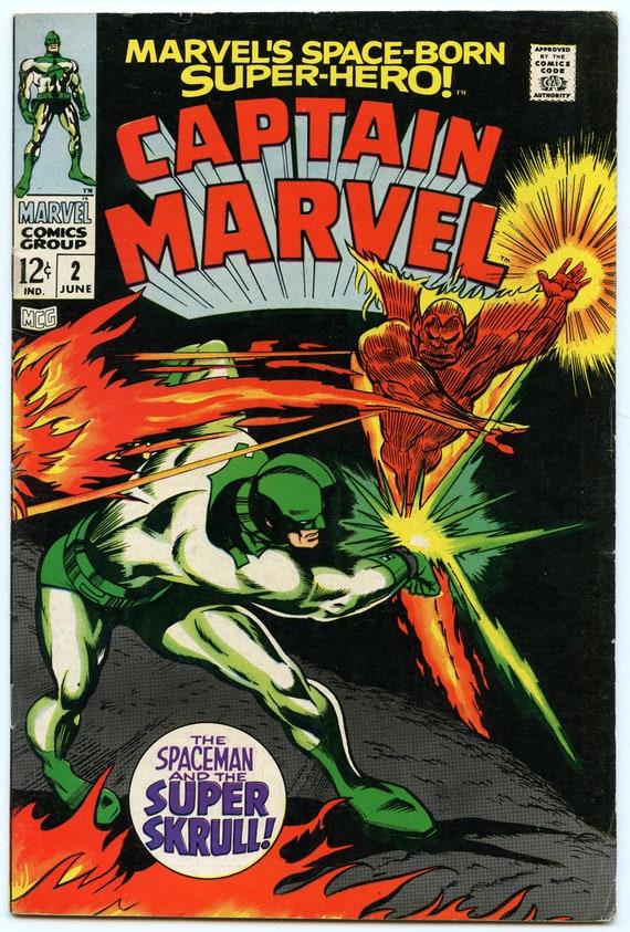Captain Marvel 2  Jun 1968 FI (6.0)