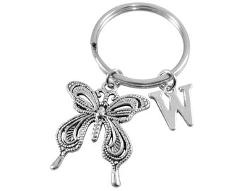 Personalised Butterfly Keyring b408ded45