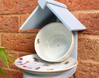 Bee Cup/Saucer Bird Feeder