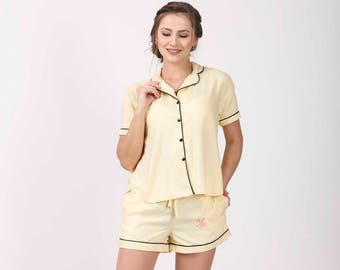 caa00de54c48 YELLOW Bridesmaid shirts