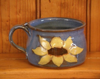 Sunflower Soup Mug