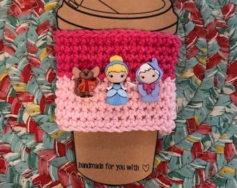 Cinderella Coffee Cup Cozy