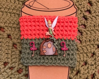 Tinkerbell Coffee Cup Cozy