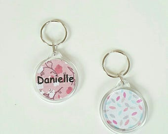 key liberty pink name or choose your message
