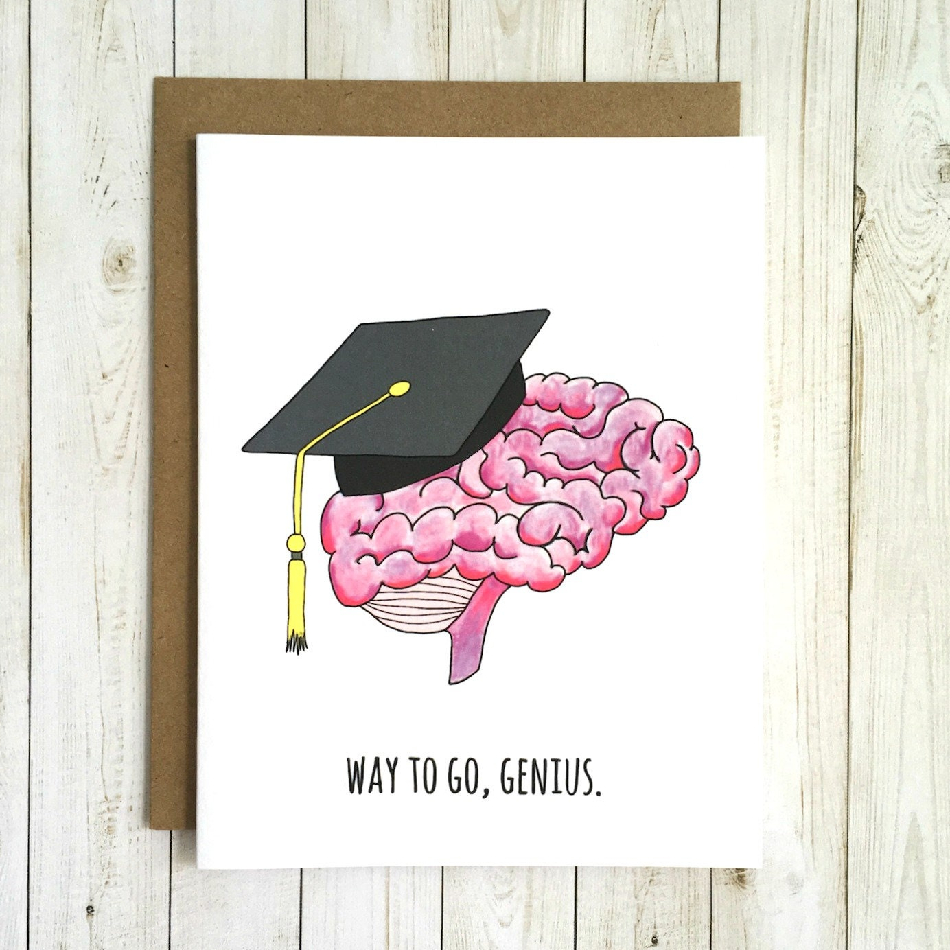 Funny Graduation Card Funny College Graduation Card Etsy