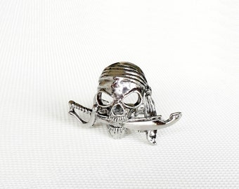 Ring pirate scimitar, sword head pirate ring solid stainless alloy, Jack Sparrow ring Pirates, the Caribbean Pirates ring, pirate jewelry,