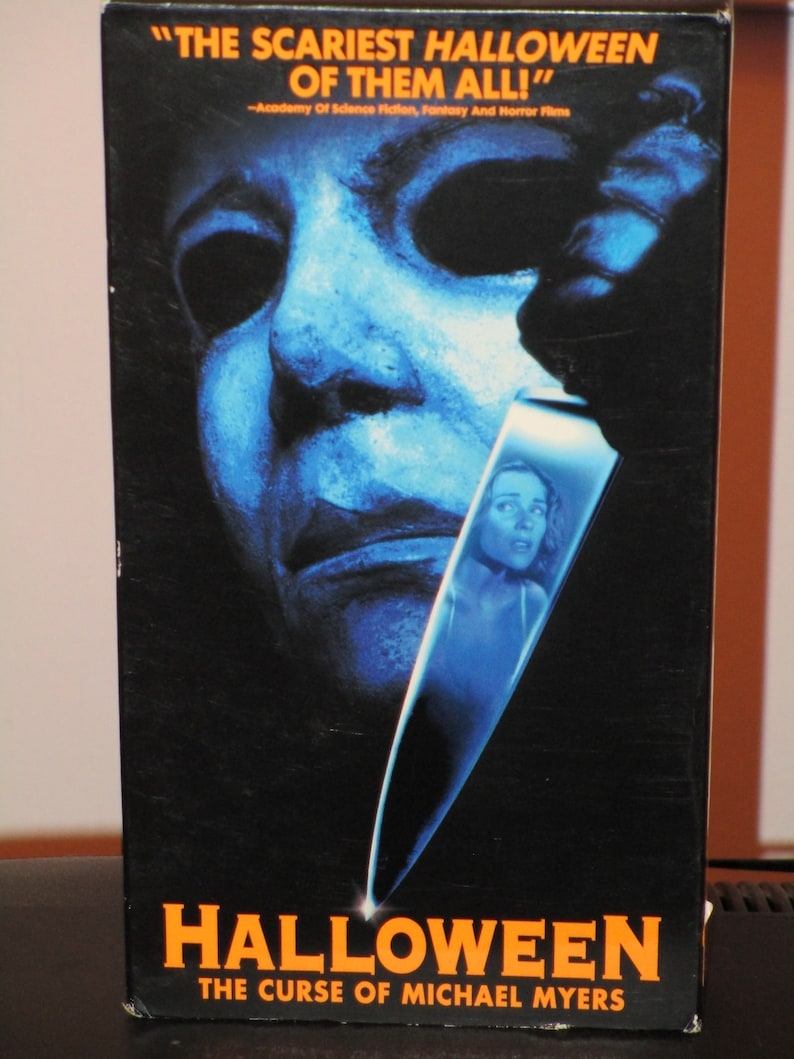 407580aee0c4 Halloween  The Curse of Michael Myers Halloween 6 Movie on VHS