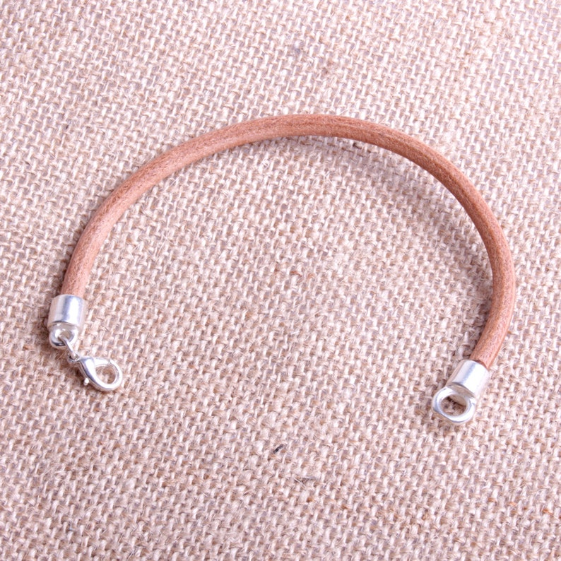 Children/'s bracelet with chiseled leather workshop bijouterie By Mode France.