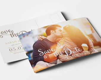 Photographer save the date template photography save the date design instant download save the date postcard engagement announcement wedding