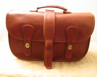 346dcad25 COACH Vintage British Tan Leather