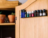 5ml Black Wall Rack, Essential Oil Storage, Essential Oil Holder, Organizer, Oil Rack, Case, Essential Oil Display, Oil Shelf, MetalRacks