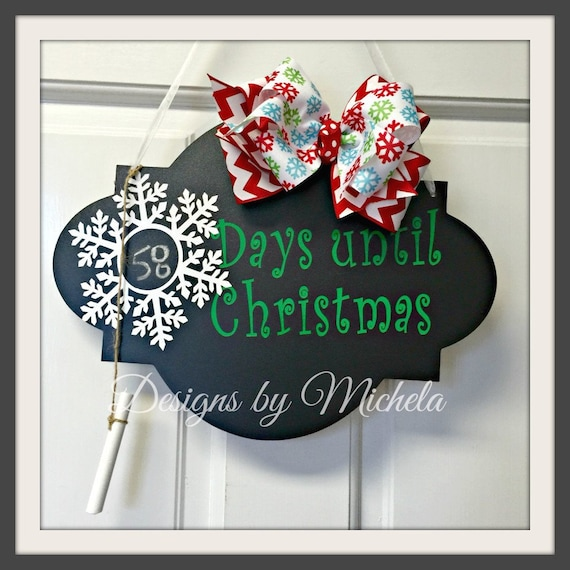 Days Till Christmas Chalkboard.Days Til Christmas Chalkboard Gf002