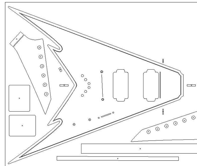Acoustic Guitar Blueprints