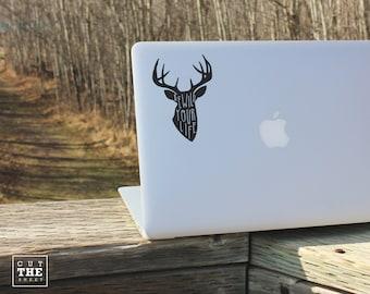 Rewild your life - Laptop Decal - Laptop Sticker - Car Decal - Car Sticker