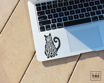 We're all mad here (Alice in wonderland) - Laptop Decal - Laptop Sticker - Car Decal - Car Sticker - Cheshire Cat Decal