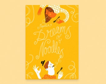 Dreams of Noodles Risograph Zine