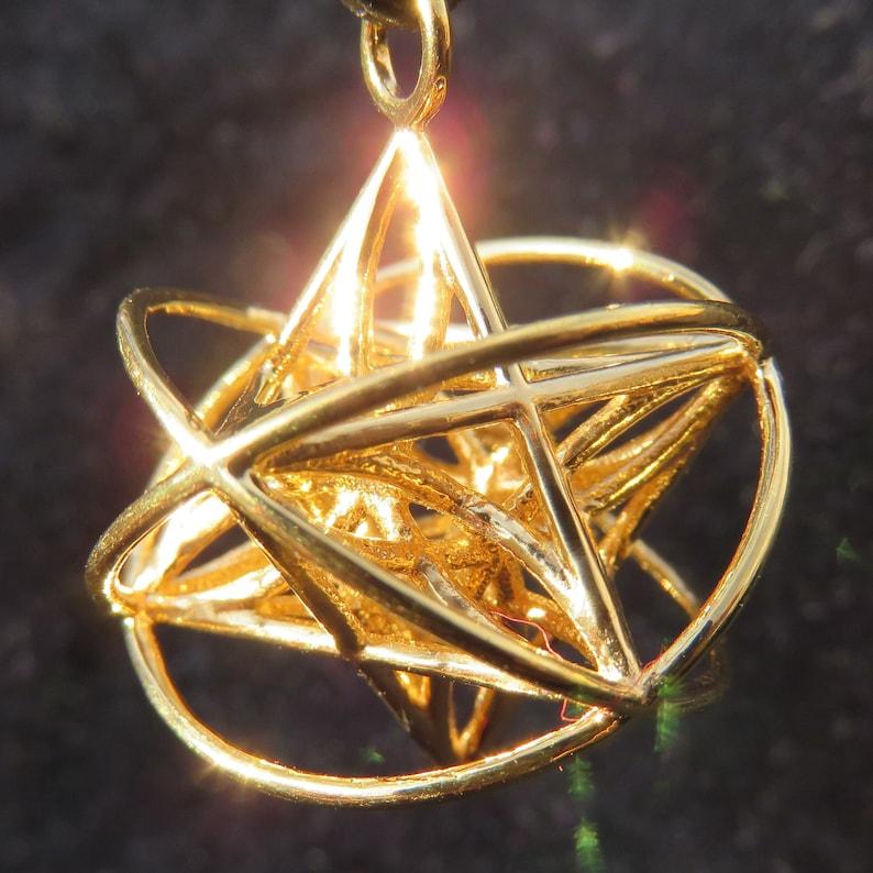 Orbital Star of Life ™ : MerKaBa  Flower of Life Triquetra  image 0