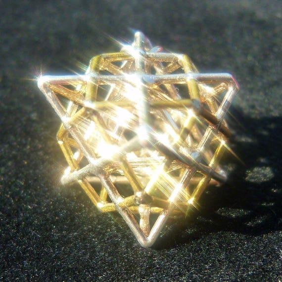 3dPhi Prana Cube3d Pendant MerkabaOctahedronSacred Terra Golden Ratio Geometry Tantric Vector EquilibriumMetatrons 3qRAjL54