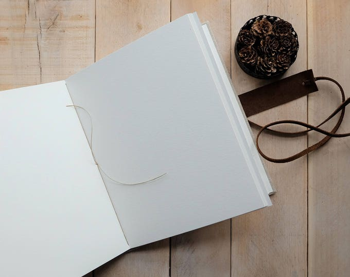 Add An Extra 20 Pages to Your Watercolor Sketchbooks Exclusively Made By Small Oak Studios