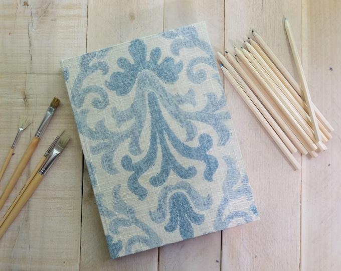 Vintage Style Linen Journal or Sketchbook - Limited Edition