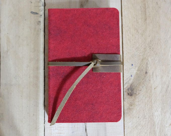 Large Wool and Leather Sketchbook