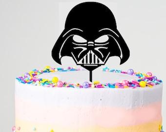 Darth Vadar Cake Topper