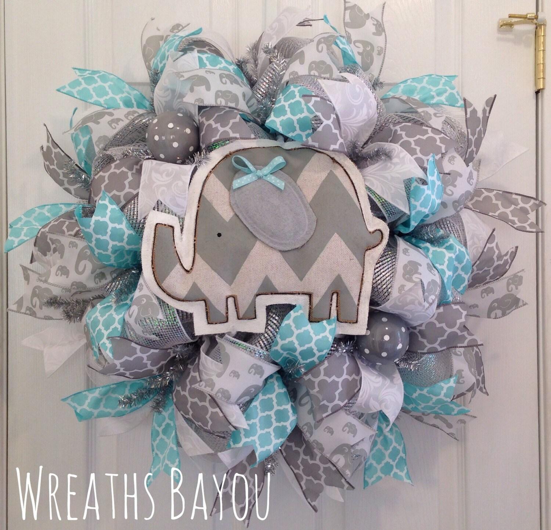 Baby Wreath Baby Girl Baby Boy Baby Shower Gift Nursery Decor Etsy