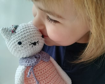 "Amigurumi doll, Amigurumi cat, ""Mina the cat""-gift idea, kids crochet game, Amigurumi, crochet"